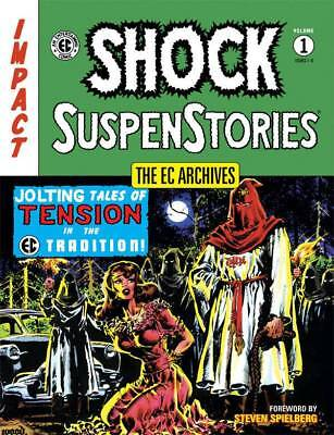 Ec Archives Shock Suspenstories Volume One Hardcover Issues #1-6 $Ave 50%