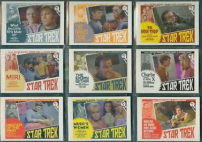 STOS Captain's Collection 80 Card TOS Lobby Cards Set  by Juan Ortiz