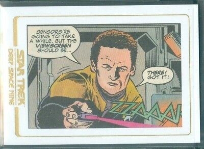 Star Trek DS9 Heroes & Villains  ( CC6 ) Comic Cuts  Limited to 99