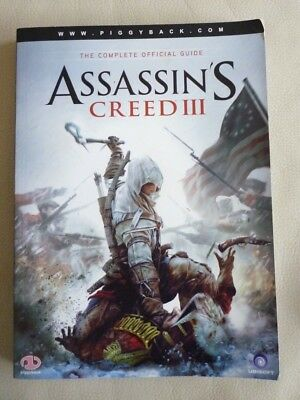 ASSASSIN'S CREED III  The Complete Official Guide Piggyback S/cover VGC