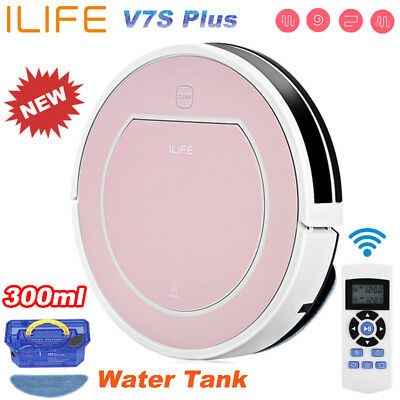 ILIFE V7s Plus Smart Robotic Vacuum Cleaner Floor Dry Wet Cleaning Mopping Robot