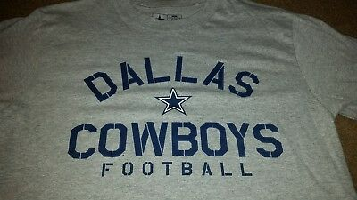 NEW NIKE DALLAS Cowboys NFL Football Dri-Fit t-shirt men XXL Gray ... 190fb6acd