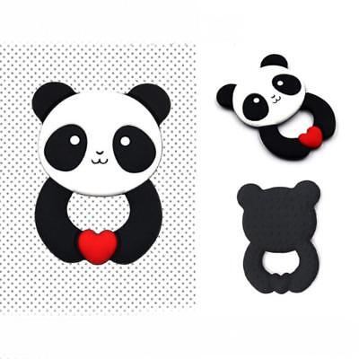 Panda Teething Silicone Teether Necklace Making Autism Sensory Chew Toy LC