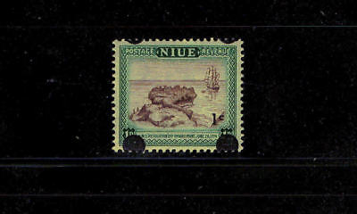 Niue - 1967 - Misplaced Overprint on 1¢ Resolution - SC 107 [SG 126] Mint 18