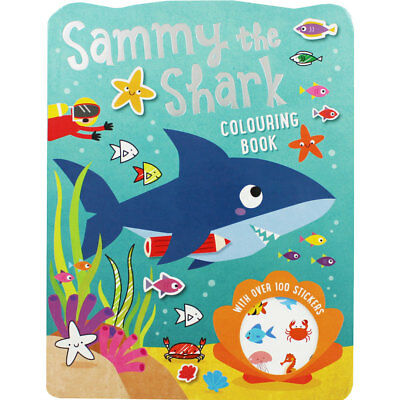 Sammy the Shark Colouring Book (Paperback), Children's Books, Brand New