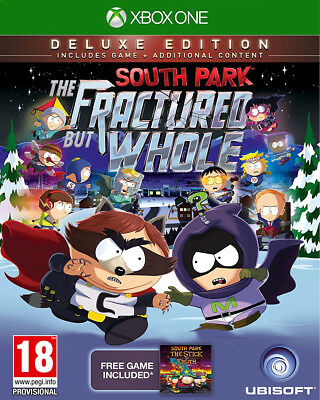 South Park - The Fractured But Whole Deluxe Edition For XBOX One (New & Sealed)