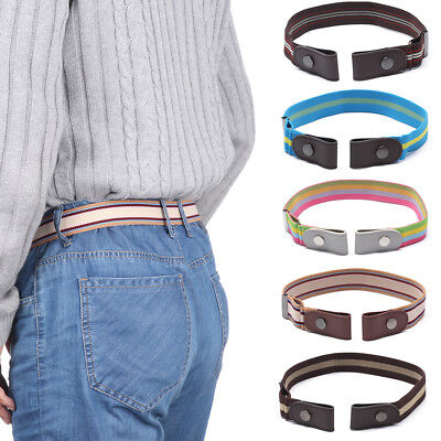 -Buckle-free Elastic Unisex Adjustable Invisible Belt For Jeans No Bulge Hassle-