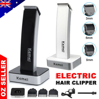 Rechargable Electric Cordless Hair Cut Beard Clippers Trimmer Shaver Razor Comb