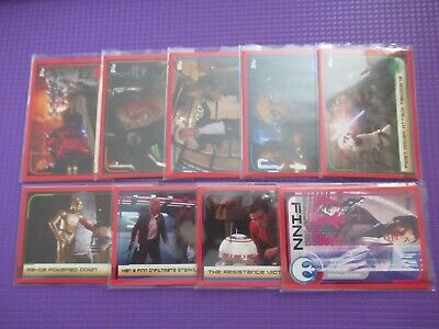 Star Wars Journey to the Last Jedi - Full 160 Base Card Set **New**