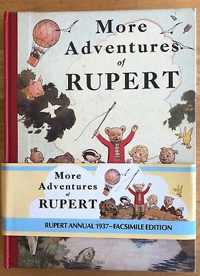 RUPERT FACSIMILE ANNUAL 1937 Inscribed FINE LTD EDITION with original price band