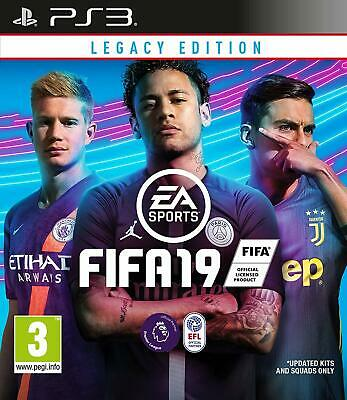 Fifa 19 Legacy Edition - PS3 Playstation 3 - New/Sealed UK PAL Fast FREE UK P&P