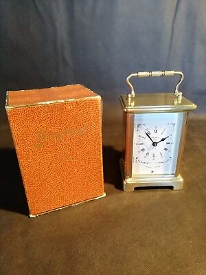 French Carriage Clock With Box