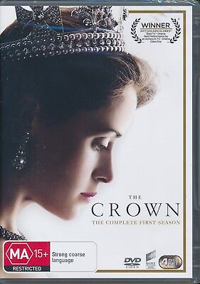 Crown Complete First Season 1 One DVD NEW Region 2 4 and 5