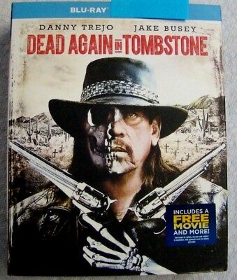 """Dead Again in Tombstone """" Blu-Ray Movie Disc, Blu-ray Case, Artwork & Slipcover"""