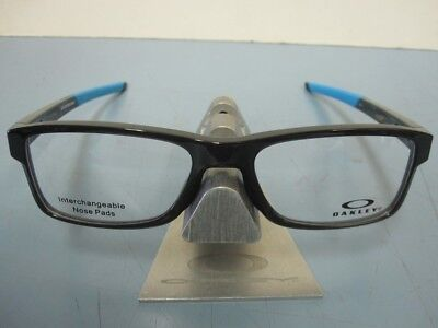 e6940eca45 OAKLEY mens RX eyeglass frame Chamfer Trubridge Black Ink OX8089-0254 New  In Box