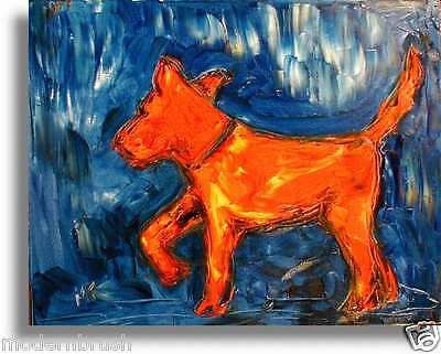 Stylish Animal Figure Abstract Wall Art Oil Painting Canvas Painted new  REGT43G