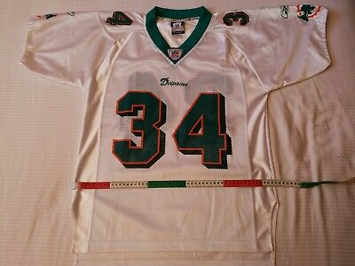 Nfl jersey Miami Dolphins 2002, no. 34 RICKY WILLIAMS