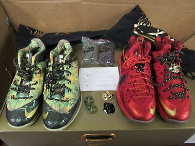 separation shoes bf624 44f25 Nike Lebron Championship Pack Celebration Size 8 AND 9 WITH BOX  49B