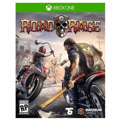 Road Rage (Microsoft Xbox One, 2016) Brand New Sealed