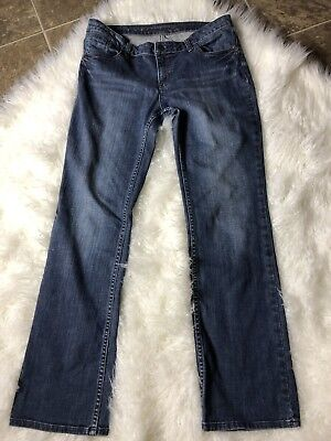 Tom Tailor Alexa Bootcut Jeans Women s 32 X 34 Blue Denim Measures 35 X 33 7ccf0cf2d0