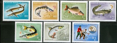 HUNGARY - 1967.Fishes and C.I.P.S.Congr. Cpl.Set  MNH!