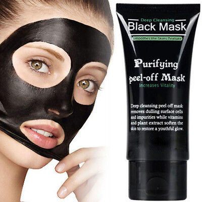 Blackhead Remover Nose Face Mask Strip Black Head Pore Acne Cleansing Mud HOT AE