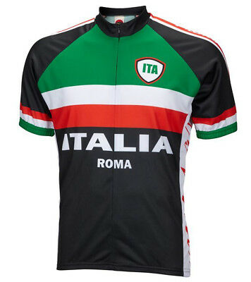Italy Italia Roma Cycling Jersey World Jerseys Men s with Socks bike bicycle  New c1ff45f28