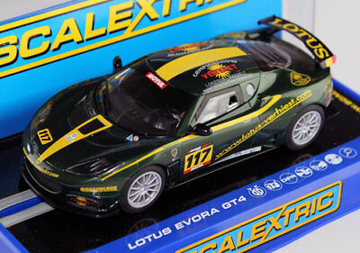 Scalextric Lotus Evora GT4 Rally Slot Car 1/32 C3506 DPR