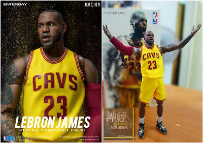 ENTERBAY Lebron James 1 9 ACTION FIGURE NBA Cleveland Cavaliers LBJ MVP  MM-1205 362eff41b