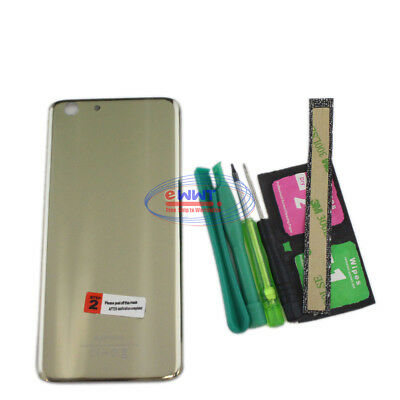 FREE SHIP for Elephone S7 LTE 2016 Original Gold Battery Cover Case+Tool ZVHB558