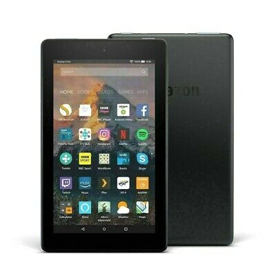 Amazon Kindle Fire (7th Generation) 1.3GHz Wi-Fi Tablet with Alexa 8 GB - Black