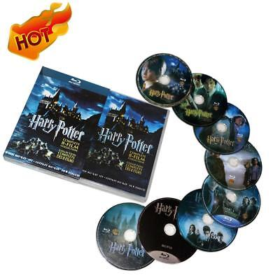Harry Potter 1-8 Film DVD Films Coffret Complet 1-8 Collection de films DVD