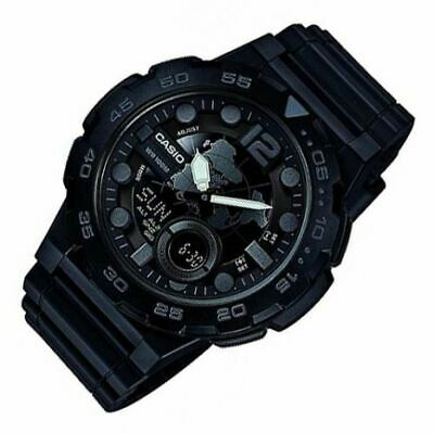Casio Sports Men's Black Wristwatch AEQ100W-1B AEQ-100W-1BV