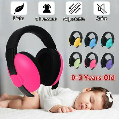 Adjustable Baby Ear Muffs Noise Cancelling Reducing Earmuffs Hearing Protection