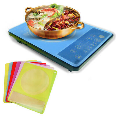 Translucent Silicone Mat Durable Induction Cooker Pad Protection Waterproof Hot