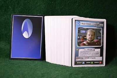 Lot of 63 1994 Star Trek The Next Generation Trading Card Game Cards DJ1232