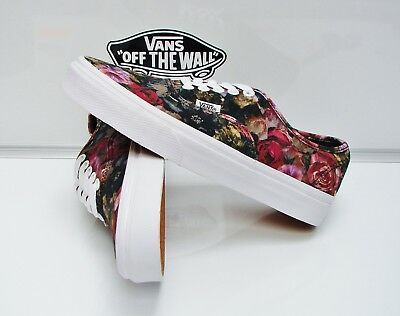 c942a331861f Authentic (Moody Floral) Black true White Vn-0004Mljou Women s Size  9.5
