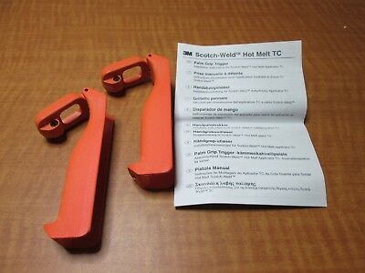 (2) 3M 62976199307 Scotch-Weld Hot Melt Applicator TC Palm Trigger 9761 NEW