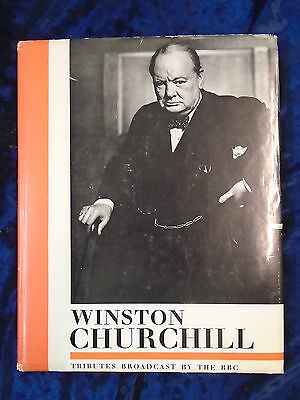 Winston Churchill Tributes Broadcast By The Bbc - Bbc 1965 - H/B With Jacket
