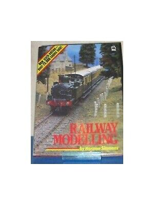 Railway Modelling by Simmons, Norman Hardback Book The Fast Free Shipping