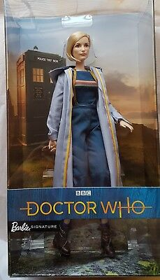 DOCTOR WHO BARBIE Thirteenth Doctor With Sonic Screwdriver Collectible Doll NEW