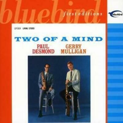 Paul Desmond And Gerry Mulligan : Two of a Mind CD (2003) FREE Shipping, Save £s