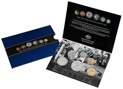 2010 Royal Australian Mint Celebrating Our Coin Designs Uncirculated Coin Set