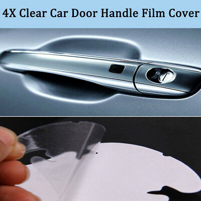 Exact Fit Invisible Auto Door Handle Paint Scratch Protective Film Sheets 20pcs
