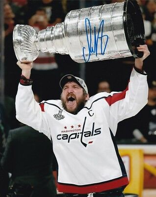 be84084adad Alex Ovechkin Autographed  Signed Washington Capitals 8x10 Photo JSA 21057