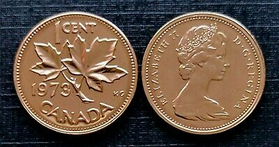 Canada 1979 Proof Like UNC Small Cent Penny!!