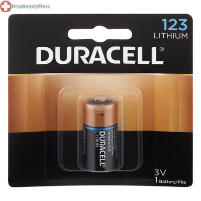McK Duracell Ultra Photo 123A Cell 3V Disposable Lithium Battery 1 Pack
