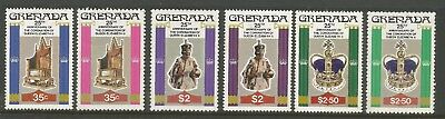 GRENADA 1978  25th ANNIVERSARY OF CORONATION (6), S.G 946-948  MNH**
