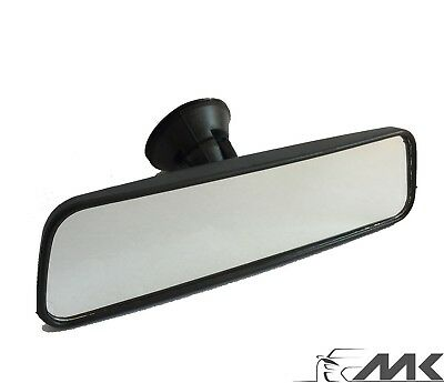 Interior Rear View Car Windscreen Dipping Mirror Stick On 250mm Rear View Mirror