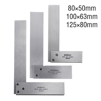 Right Angle Engineer Set Precision Ground Steel Hardened Machinist Square 90º